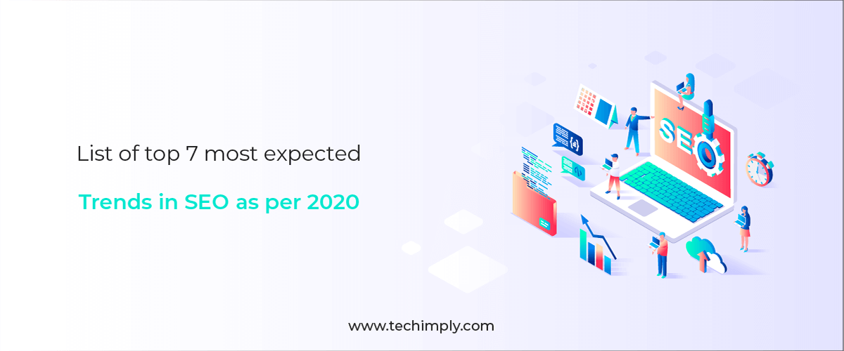 List of top 7 most expected trends in SEO as per 2020